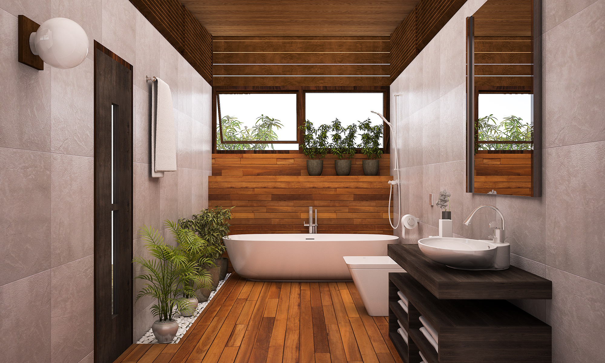 Wellness Oase im Haus Das Badezimmer – Checkliste zur ...